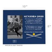Softball Photo Frame - Seniors 2020 Our Future Is Bright