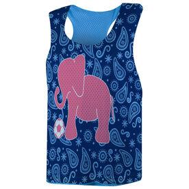 Soccer Racerback Pinnie - Elephant