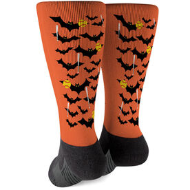 Softball Printed Mid-Calf Socks - Bats with Balls