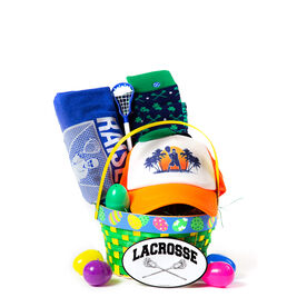 Guys Lacrosse Goalie Easter Basket 2019 Edition