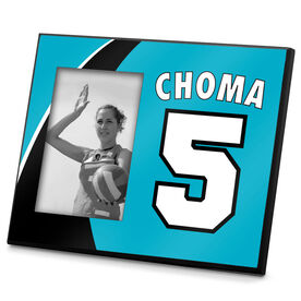 Volleyball Photo Frame Volleyball Player Name Number