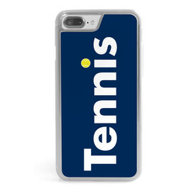 Tennis iPhone® Case - Word with Tennis Ball