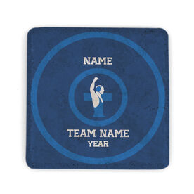 Wrestling Stone Coaster - Personalized Team
