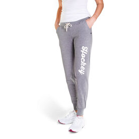 Hockey Women's Joggers - Hockey Script