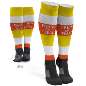 Printed Knee-High Socks - Trick Or Treat