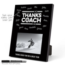 Skiing Photo Frame - Coach (Autograph)