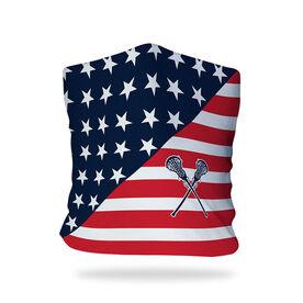 Girls Lacrosse Multifunctional Headwear - USA Flag RokBAND