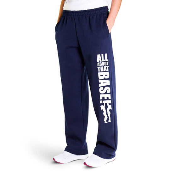 Cheerleading Fleece Sweatpants - All About That Base