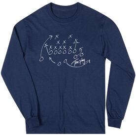 Football Tshirt Long Sleeve The Play