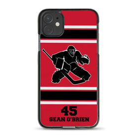 Hockey iPhone® Case - Personalized Goalie