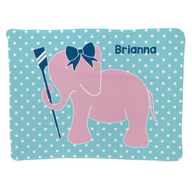 Crew Baby Blanket - Crew Elephant with Bow