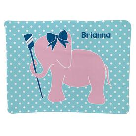 Crew Baby Blanket - Crew Elephant with Bow