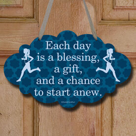 Each Day Is A Blessing Decorative Cloud Sign
