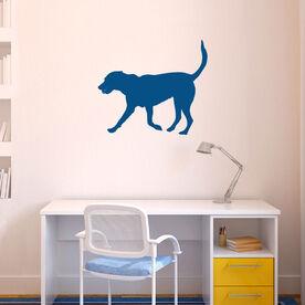 Tennis Dog Removable ChalkTalkGraphix Wall Decal