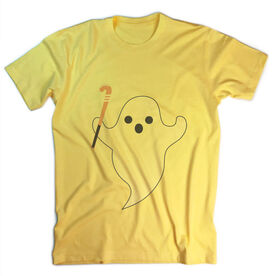 Vintage Field Hockey T-Shirt - Ghost with Field Hockey Stick