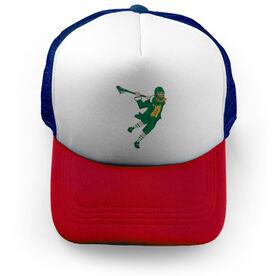 Guys Lacrosse Trucker Hat St. Hat-Tricks