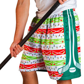 Ho Ho Ho Hockey Shorts
