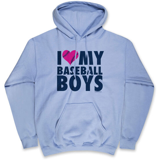Baseball Standard Sweatshirt - I Love My Baseball Boys