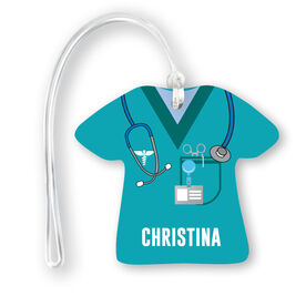 Personalized Jersey Bag/Luggage Tag - Nurse Scrubs