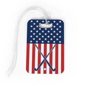 Field Hockey Bag/Luggage Tag - USA Field Hockey Girl