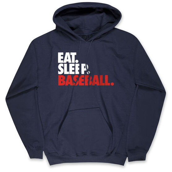 Baseball Standard Sweatshirt Eat. Sleep. Baseball.
