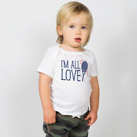Tennis Baby T-Shirt - I'm All Love