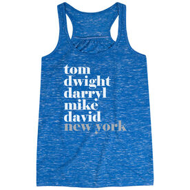 Baseball Flowy Racerback Tank Top - Fantastic Baseball - Queens New York