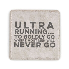 Running Stone Coaster - Ultra Running 'Written in Stone'