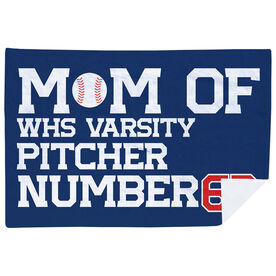Baseball Premium Blanket - Personalized Baseball Mom