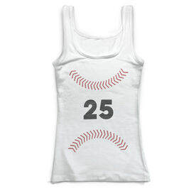 Baseball Vintage Fitted Tank Top - Sweetspot