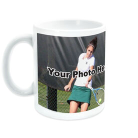 Tennis Coffee Mug Custom Photo