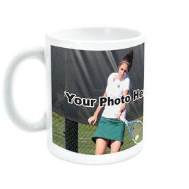 Tennis Coffee Mug Custom Photo