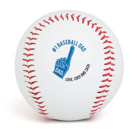Custom Baseball #1 Baseball Dad
