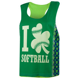 Softball Racerback Pinnie - I Shamrock Softball