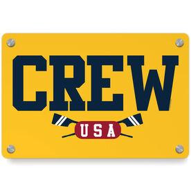 Crew Metal Wall Art Panel - Crew USA