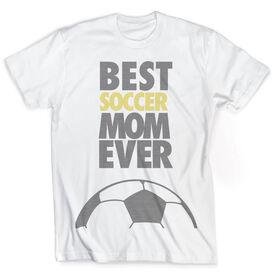 Vintage Soccer T-Shirt - Best Mom Ever