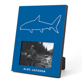 Fly Fishing Photo Frame - Simple Bone Fish
