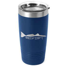 Fly Fishing 20 oz. Double Insulated Tumbler - Redfish