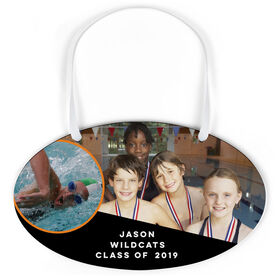 Swimming Oval Sign - Class Of Team and Player Photo