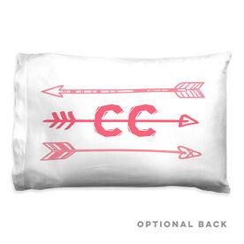 Cross Country Pillowcase - Arrows