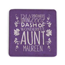 Personalized Stone Coaster - That's My Aunt
