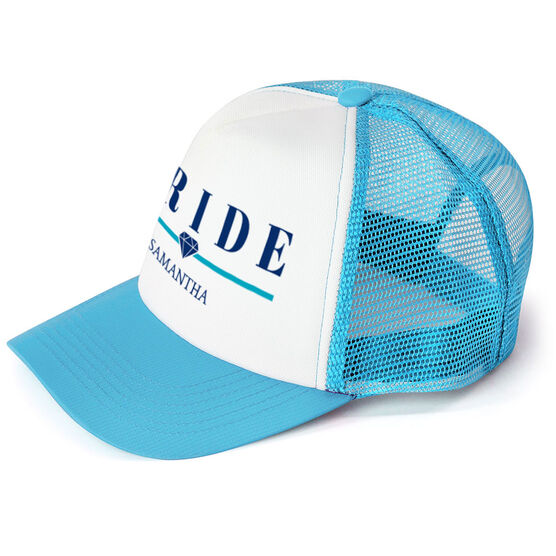 Personalized Trucker Hat - Bride (Diamond)