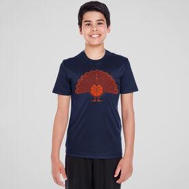 Basketball Short Sleeve Performance Tee - Turkey Player