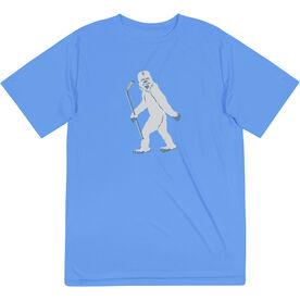 Hockey Short Sleeve Performance Tee - Yeti