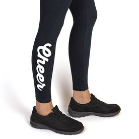 Cheerleading Leggings - Cheer Script