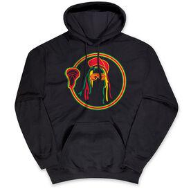 Guys Lacrosse Standard Sweatshirt - Rastafari Lacrosse