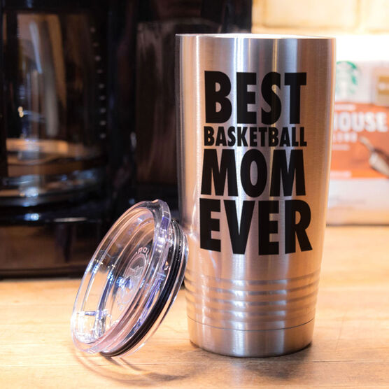Basketball 20 oz. Double Insulated Tumbler - Mom