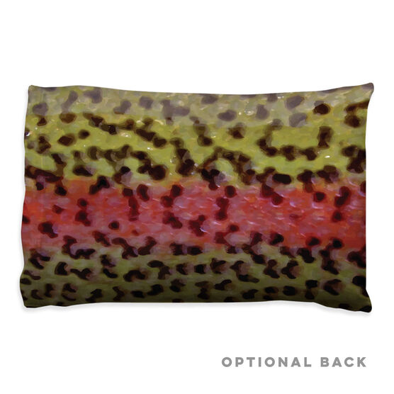 Fly Fishing Pillowcase - Rainbow Trout