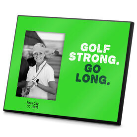 Golf Photo Frame Golf Strong Go Long