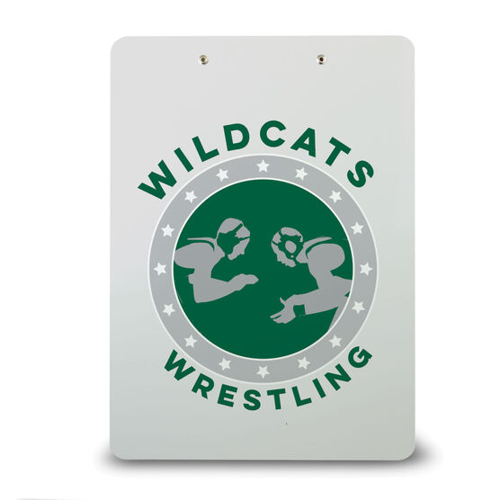Wrestling Custom Clipboard Wrestling Team Name
